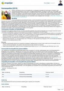 thumbnail of overzicht vergoedingen homeopathie 2019 16-11-2019