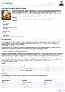 thumbnail of overzicht vergoedingen orthomoleculaire geneeskunde 2019 16-11-18